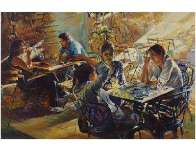 Künstler Jürgen Schmiedekampf - Café Urban Istanbul - Galerie Hegemann