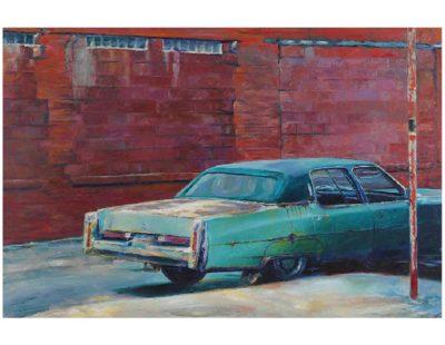 Künstler Jürgen Schmiedekampf - ingrids car - Galerie Hegemann