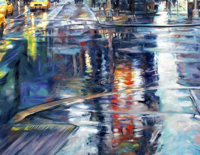 Künstler Jürgen Schmiedekampf - liquids colors #2 - Galerie Hegemann