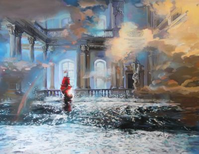 Künstler Marina Sailer #4 Rote Segeln - Galerie Hegemann