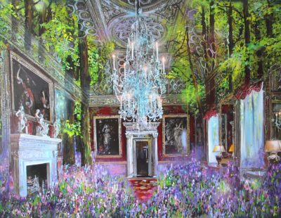Künstler Marina Sailer #5 Farbe Lila - Galerie Hegemann