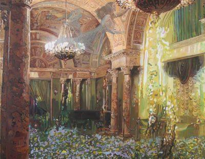 Künstler Marina Sailer #6 Englisch Club - Galerie Hegemann