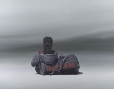 k-Künstler Nigel Cox Storm-Oil-on-linen-76x-76cm-£5800 - Galerie Hegemann