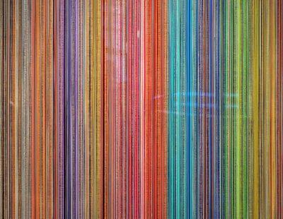 Jacqueline Bozon, Beyond ZENSation, 2018, Acryl, Kunstharz auf Leinwand, 100 x 100 cm - Galerie Hegemann