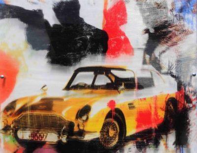 PAUL THIERRY, JB 007, 2016, MT auf Leinwand, Acrylglas, 50 x 50 cm - Galerie Hegemann
