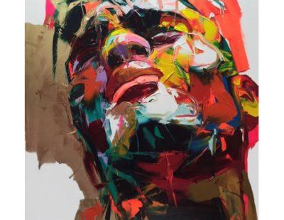 FRANÇOISE NIELLY, Norman, 2019, Fine Art Print auf Leinwand, Kunstharz, 162 x 114 cm - Galerie Hegemann