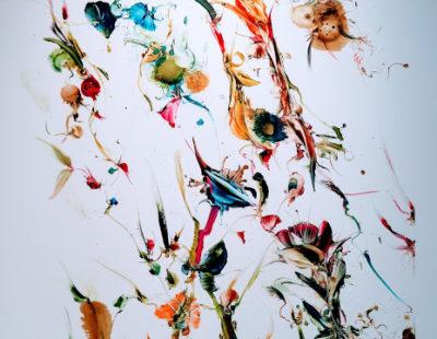 GERHARD NEUMAIER Der Eingang zum Paradies, 2017, Öl auf Simopor, 140 x 100 cm - Galerie Hegemann