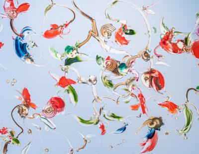 GERHARD NEUMAIER Der Wind und andere Teile von Süddeutschland, 2019, Öl auf Simopor, 63 x 135 cm - Galerie Hegemann
