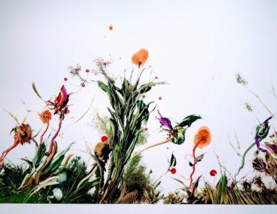GERHARD NEUMAIER Jenseits des Aufgeräumten II, 2016, Öl auf Simopor, 100 x 160 cm - Galerie Hegemann