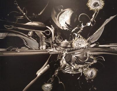 GERHARD NEUMAIER Oh Trost für die gekränkten Seelen, 2016, Öl auf Symopor, 100 x 100 cm - Galerie Hegemann