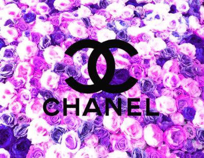 PAUL THIERRY Rosa-Blu-Chanel, 2018, Monotypie auf Leinwand, Acrylglas, 90 x 90 cm, Auflage 29 Exemplare - Galerie Hegemann