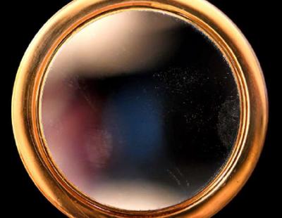 ANOUK Magic Mirror, 2019, Aludibond, gerahmt, Museumsglas, Auflage 7, 126 x 126 cm - Galerie Hegemann