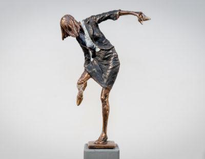 VITALI SAFRONOV Goldene Schuhe, 2016, Bronze, 18 cm - Galerie Hegemann