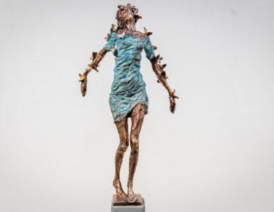 VITALI SAFRONOV Schmetterling, 2019, Bronze, 21 cm - Galerie Hegemann