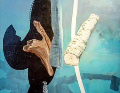 UDO DZIERSK Alle Jahre wieder, 2019, Öl auf Leinwand, 90 x 70 cm - Galerie Hegemann