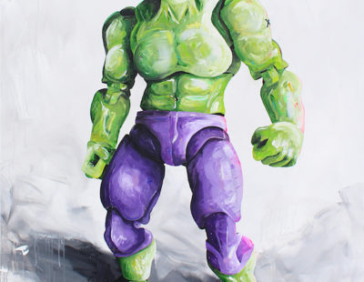 PEINTRE X Hulk, Acryl auf Leinwand, 150x120 cm - GALERIE HEGEMANN