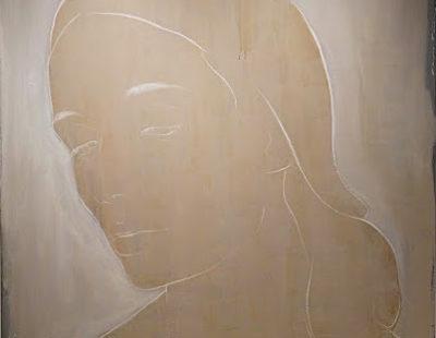 CASPER FAASSEN Chloe, MIschtechnik auf Leinwand, 160 x 160 cm - GALERIE HEGEMANN