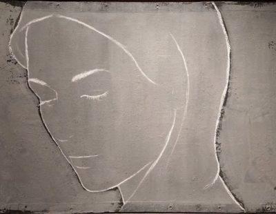 CASPER FAASSEN Elisa, Mischtechnik auf Leinwand, 97 x 168 cm - GALERIE HEGEMANN