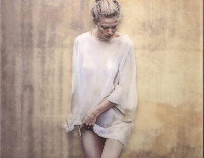 CASPER FAASSEN Marie badend, 2020, Fotografie, Acryl, 180 x 120 cm - GALERIE HEGEMANN