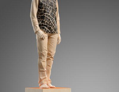 """""""Zerbrächlich"""" by sculptor Matthias Kostner, 52cm"""