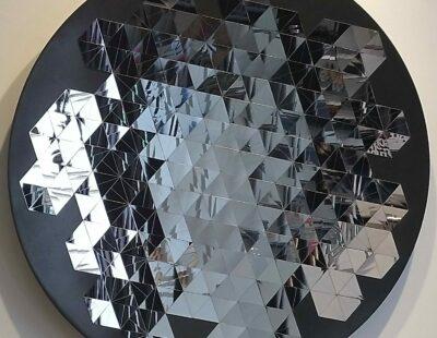 R.A. Westerhuis, Selfreflection large, 2020, Edelstahl, 100 cm