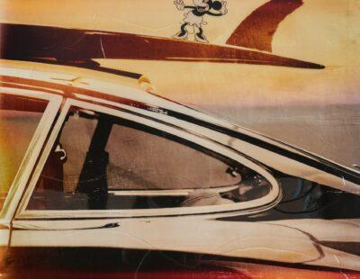 Jörg Döring, Wheels & waves, 2021, Mixed Media, 100 x 100 - Galerie Hegemann