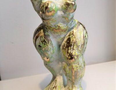 Jörg W. Schirmer Fang!, 2020, Bronze, 24 cm - Galerie Hegemann